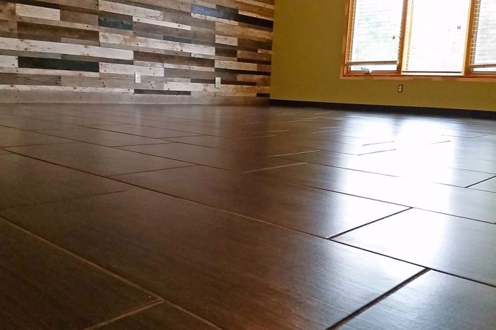 Quality flooring tile installation